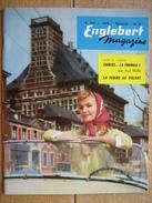 ENGLEBERT MAGAZINE N° 257 - 1959 -STIRLING MOSS-VON TRIPS-GENDEBIEN-HAWTHORN-PETER COLLINS- Salon De GENEVE - Voitures