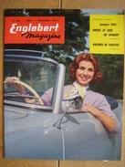 ENGLEBERT MAGAZINE N° 256 - 1959 - CABIANCA -CHRYSLER 300 E-L'EDSEL-CHEVROLET-FORD GALAXIE-FORD-MERCURY-PONTIAC - Voitures