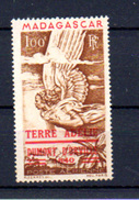1948    Tp Madagascar Surchargé Terre D'Adélie, PA 1**, Cote 55 €, - Franse Zuidelijke En Antarctische Gebieden (TAAF)