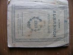 Le Petit Almanach Populaire Pour 1918 - Calendriers