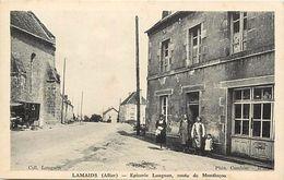 -dpts Div.-ref-PP975 - Allier - Lamaids - Epicerie Lougnon - Route De Montluçon - Epiceries - Magasin - Magasins - - Other Municipalities