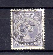 1891-97   Wilhelmine, 45 Ob, Cote 95 €, - Period 1891-1948 (Wilhelmina)