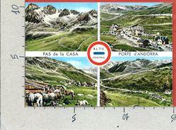 CARTOLINA NV ANDORRA - PORTE D'ANDORRA - Pas De La Casa - 10 X 15 - Andorra