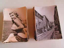 Lot  160 CPSM Grand Format , FRANCE Uniquement , Toutes Régions, Variées En Bon état , Pas De Doublons - Postcards
