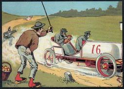 A5474 - Alte Postkarte - Künstlerkarte - Carlo Donadini - Fahrzeug Auto - Saxonia Finken TOP - Ilustradores & Fotógrafos