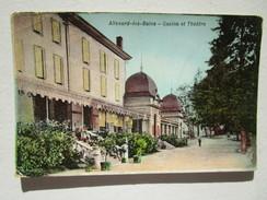Allevard Les Bains. Casino Et Theatre. K.F. Editeurs A Paris. Chocolaterie Cooperative Du Nord - Chocolat Plouvier - Allevard