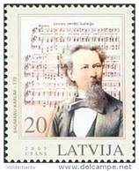 Latvia 2005 Mih. 637 Music. Composer Baumanu Karlis MNH ** - Lettland