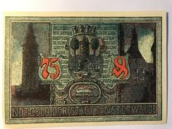 Allemagne Notgeld Finsterwalde 75 Pfennig - [ 3] 1918-1933 : Weimar Republic