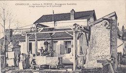CHAROLLES  Ateliers  A  FURTIN  Monuments Funéraires  SCIAGE ( Plan Animé) - Charolles