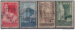 Belgica 1934 Nº 366/89 Usado - Bélgica
