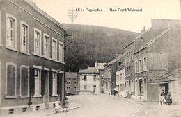 Pepinster - Rue Pont Walrand (animée - Pepinster