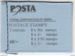 1993 Kenya EXPERIMENTAL Birds Booklet Stanley Gibbons SB12 Complete Unexploded MNH Catalogues GBP 50 RARE - Kenya (1963-...)