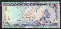 523-Maldives Billet De 5 Ruffyaa 2006 H915 Neuf - Maldives
