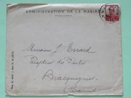 Belgium 1912 Cover Antwerpen To Bracquegnies - King Albert I - 1912 Pellens