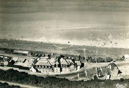 CPSM Vue Aérienne -SAINT-EFLAM  - Le Grand Hôtel Et La Plage - Autres Communes