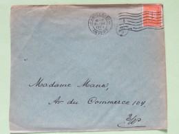 Belgium 1914 Cover Antwerpen - Nummer - 1912 Pellens