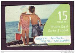 Canada, 2005, Canada, Plage, Enfants, Beach, Children - Canada
