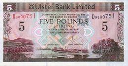 NORTHERN IRELAND 5 POUNDS 2013 P-340b UNC ULSTER BANK [IEN936b] - [ 2] Irlanda Del Norte
