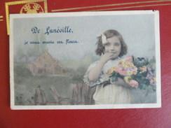 54 - De Luneville Je Vous Envoie Ces Fleurs - 1906 - Luneville