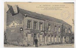 BAZEILLES - N° 42 - MAISON DE LA DERNIERE CARTOUCHE AVEC PERSONNAGE - CPA VOYAGEE - Other Municipalities