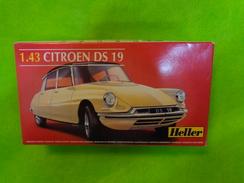 Maquette Heller Citroen Ds 19 1.43 Ref 80162 - Aerei