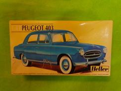 Maquette Heller Peugeot 403  1.43 Ref 80161 - Flugzeuge