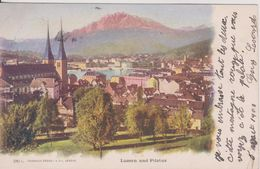 Suisse > LU Lucerne Luzern Und Pilatus Colorisée Ambulant N° 20 - LU Lucerne