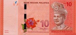 MALAYSIA 10 RINGGIT ND (2012) P-53a UNC SIGN. AZIZ [MY151a] - Malaysia