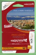 CARTE PREPAYEE 50€ *** PASS LOISIRS MARSEILLE *** Tirage ? Ex *** (BO-01) - France