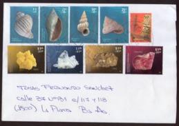 Argentina - 2016 - Lettre - Minerals - Shells Coquillages Muscheln - Argentina