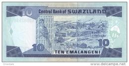 SWAZILAND P. 24b 10 E 1997 UNC - Swaziland