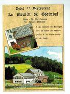 """17421      CPM   Hôtel Restaurant """" Le Moulin De Godinval """" , REMOIVILLE  , VAUS SUR SURE !! - Vaux-sur-Sûre"""
