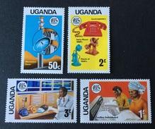 Uganda MNH**  1976  - # 147/150 - Uganda (1962-...)