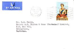 St Lucia Envelope 1967 - St.Lucia (1979-...)