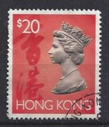 Hong Kong 1992 Queen Elizabeth II  $20 (o) - Hong Kong (...-1997)
