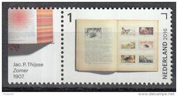 Nederland -  Jaar Van Het Boek - Jac. P. Thijsse - Zomer - MNH - NVPH 3458 - Schrijvers