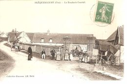 60 - Bléquencourt - (oise) - La Boucherie Courcial - Autres Communes