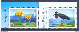 2017. Kyrgyzstan, Flora And Fauna Of Kyrgyzstan, 2v Perforated, Mint/** - Kyrgyzstan
