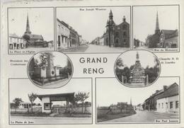 Grand-Reng - Carte Mulivues - Erquelinnes