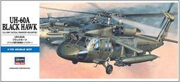 UH-60A Black Hawk 1/72 ( Hasegawa ) - Plastic Models