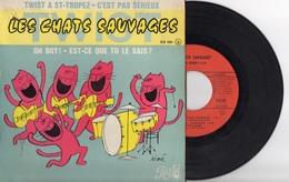 Les Chats Sauvages. Twist à St-Tropez. Dick Rivers. Siné - Collector's Editions