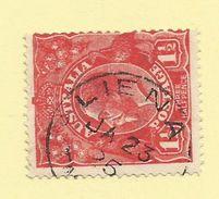Tasmania - Circular Post Office Postmark - Liena - Tas 817 - 1853-1912 Tasmania