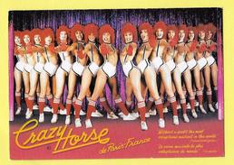 PIN UP DE PARIS FRANCE FEMME NUE DANSEUSES SEINS NUS CRAZY HORSE CABARET SPECTACLE NU - Nus Adultes (< 1960)