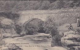 65---CAUTERETS--vieux Pont Sur Le Gave--( Route De Pierrefitte )---voir 2 Scans - Cauterets