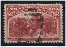 USA Mi Nr 85  Sc Nr 242 Yv Nr 93  Obl./Gestempelt/used 1893 - 1847-99 General Issues