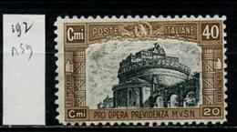 Italie 1926 Y&T N°192 - 1900-44 Victor Emmanuel III