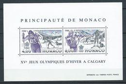 MONACO 1988 . Bloc Feuillet N° 40 . Neuf ** (MNH) - Blocs