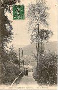 CARTE BONSECOURS DANS LE RAIDILLON 1908 - Bonsecours
