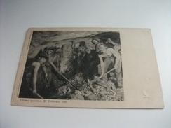 ULTIMO SGOMBRO 24 FEBBRAIO 1905 TUNNEL DEL SEMPIONE OPERAI IN AZIONE - Mijnen