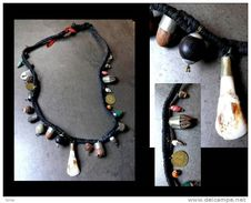 Collier De Chamane Népalais / Nepalese Shaman's Necklace - Art Asiatique